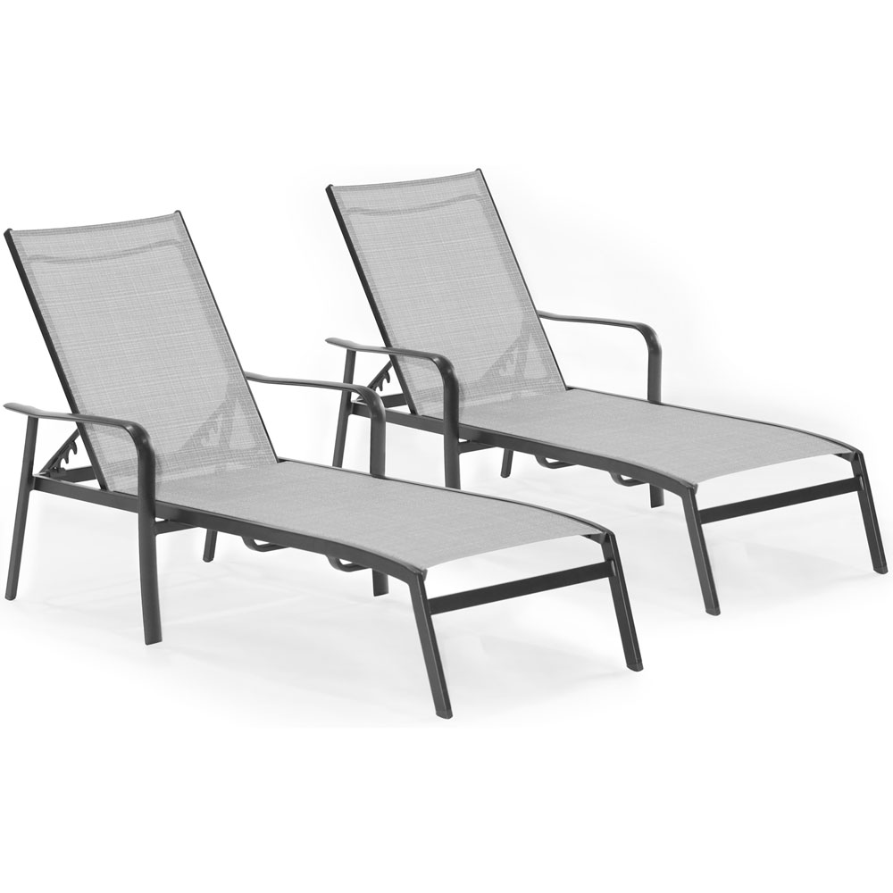 Foxhill 2pc Chaise Lounge Chairs