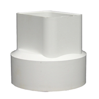 DOWNSPOUT ADAPTER TRIPWALL 4IN