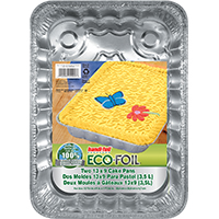 Handi-Foil 22002TL-15 Disposable Foil Utility Pan, 12-3/4 in L X 9 in W