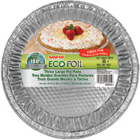 Eco-Foil 20305TL.010 Large Pie Pan, Aluminum
