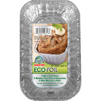 Handi-Foil 20317TL-15 Disposable Foil Loaf Pan, 1 lb, 5.718 in L X 3.312 in W