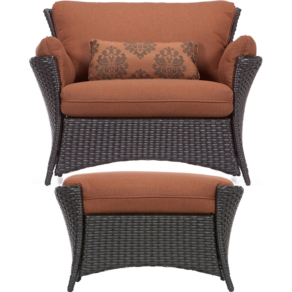Strathmere Allure 2pc Seating Set: Oversized Chair, Side Table