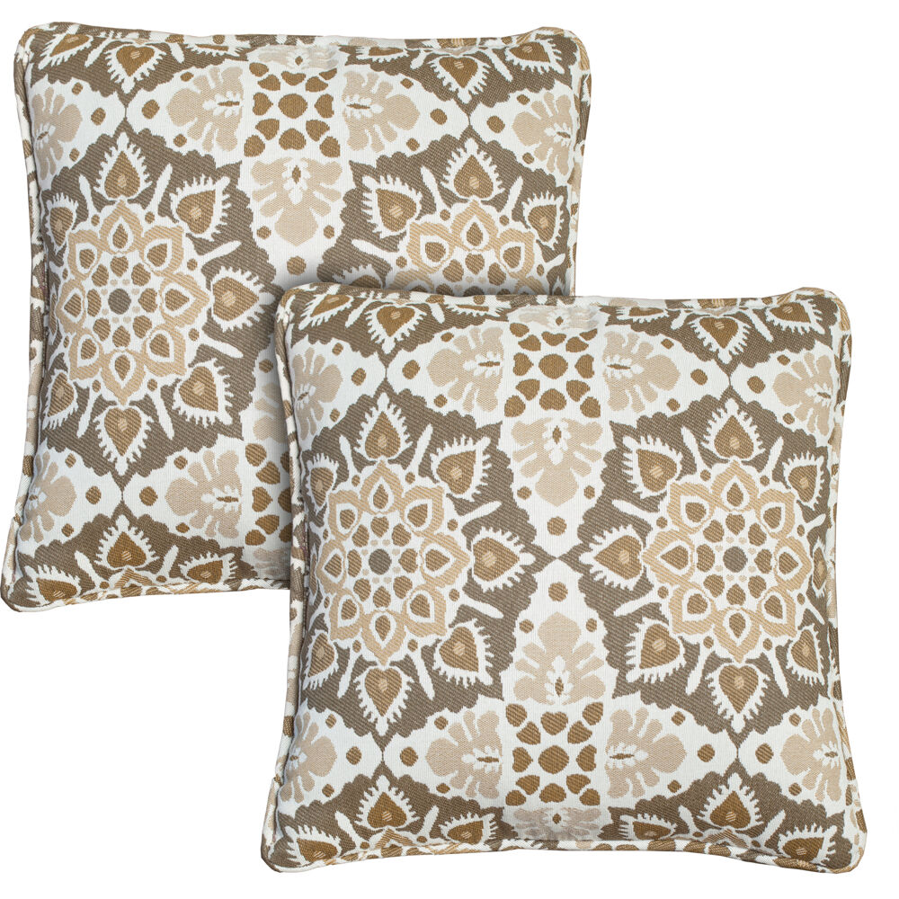 Hanover Medalion Throw Pillow, Set of 2