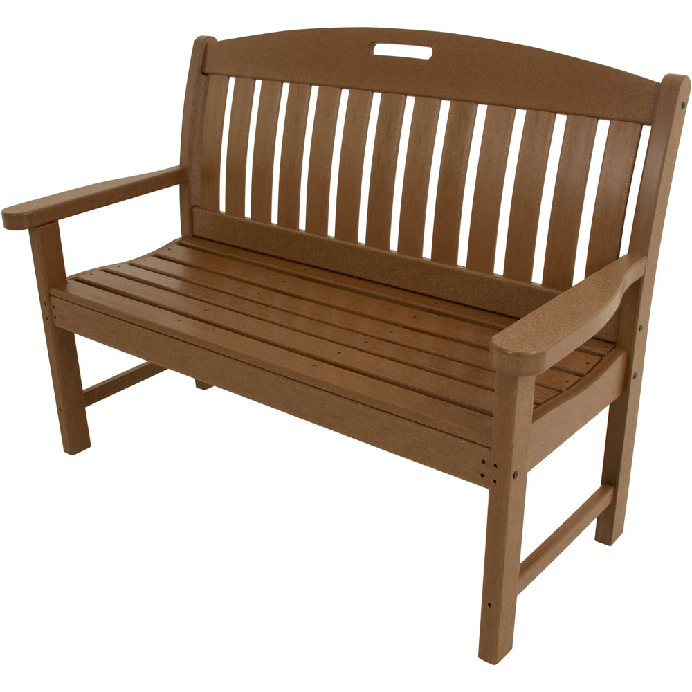 "Hanover All-Weather Avalon 48"" Porch Bench"