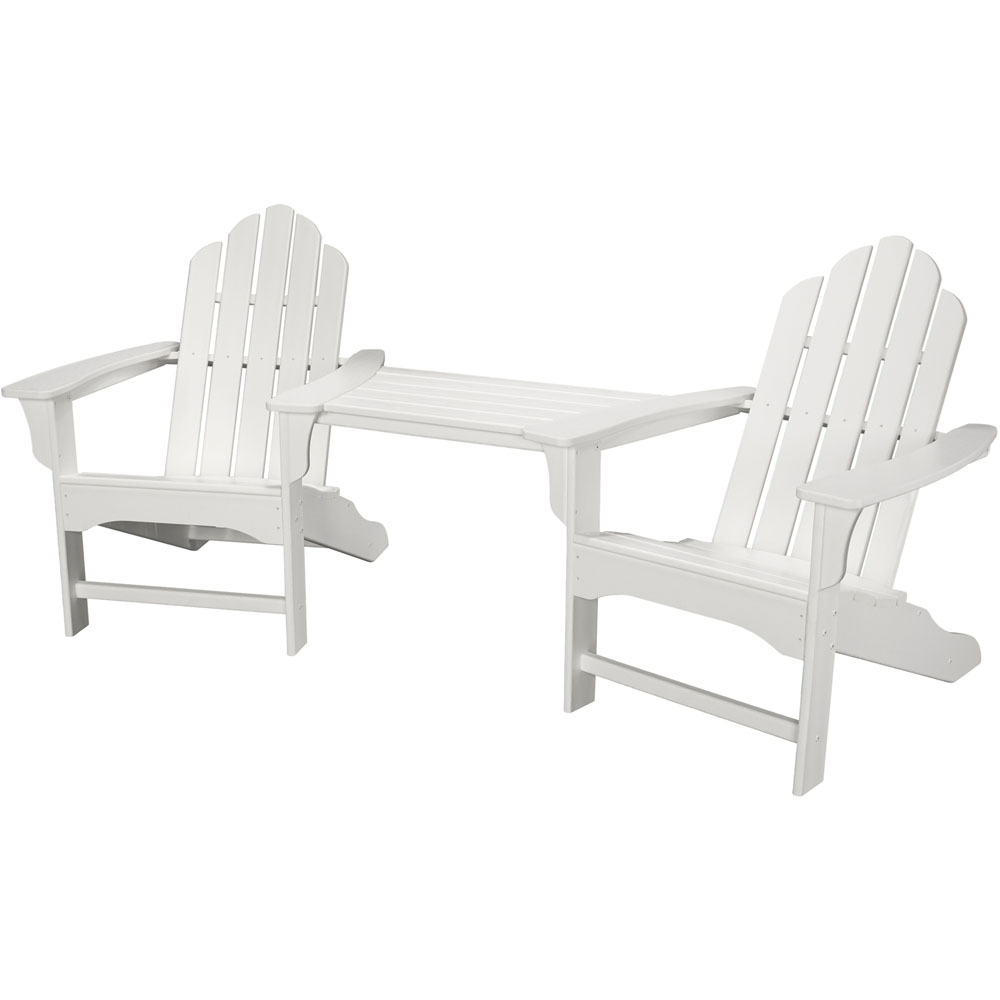 Hanover All-Weather Rio 3pc Tete-a-Tete: 2 Ad Chairs, Tete-a-Tete Table