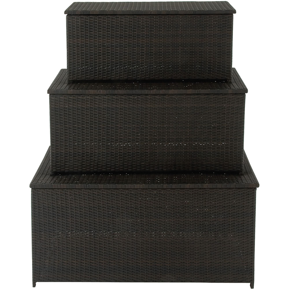 Set of three (3) Outdoor Deck Boxes/Trunks