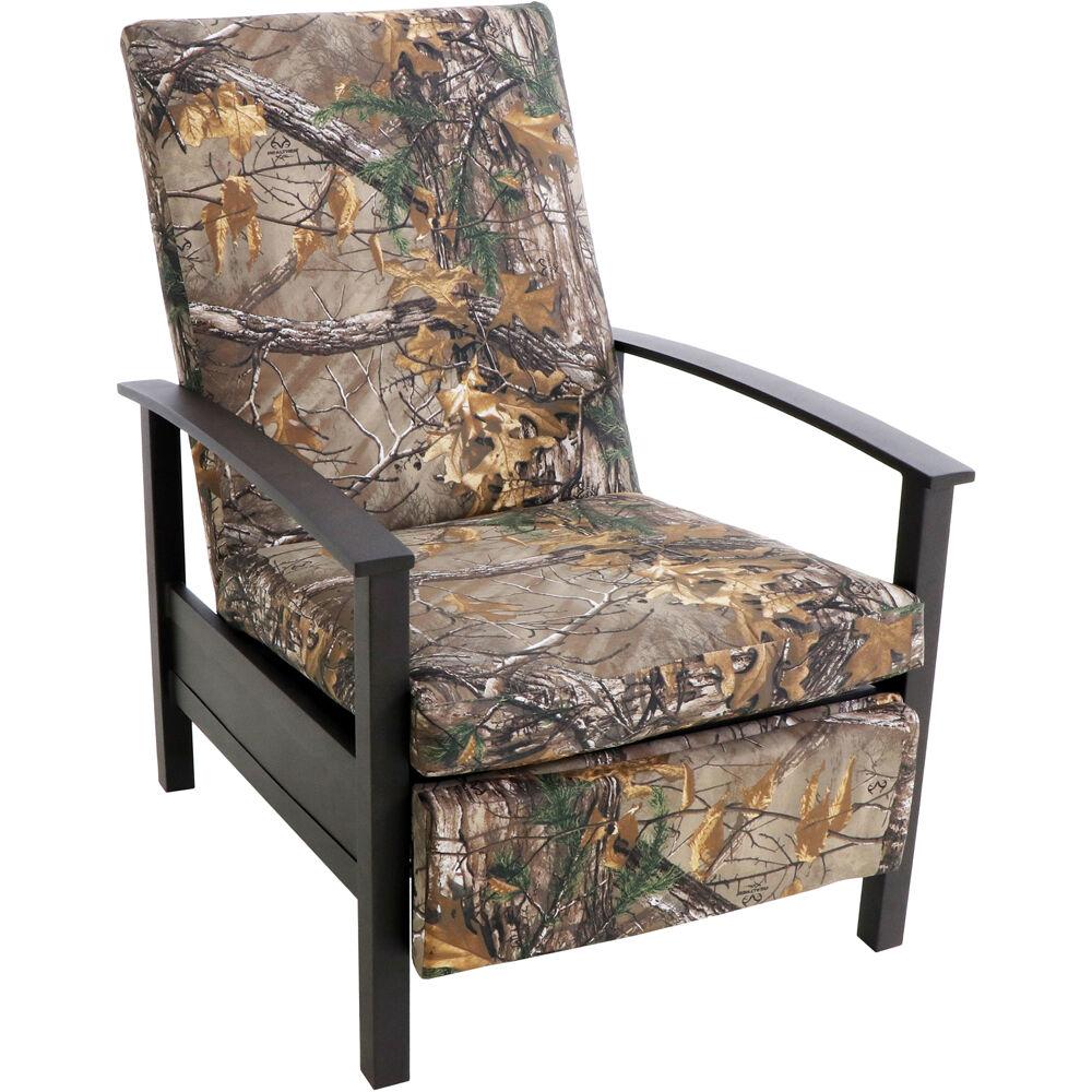 Cedar Ranch Recliner with Camo Cushions