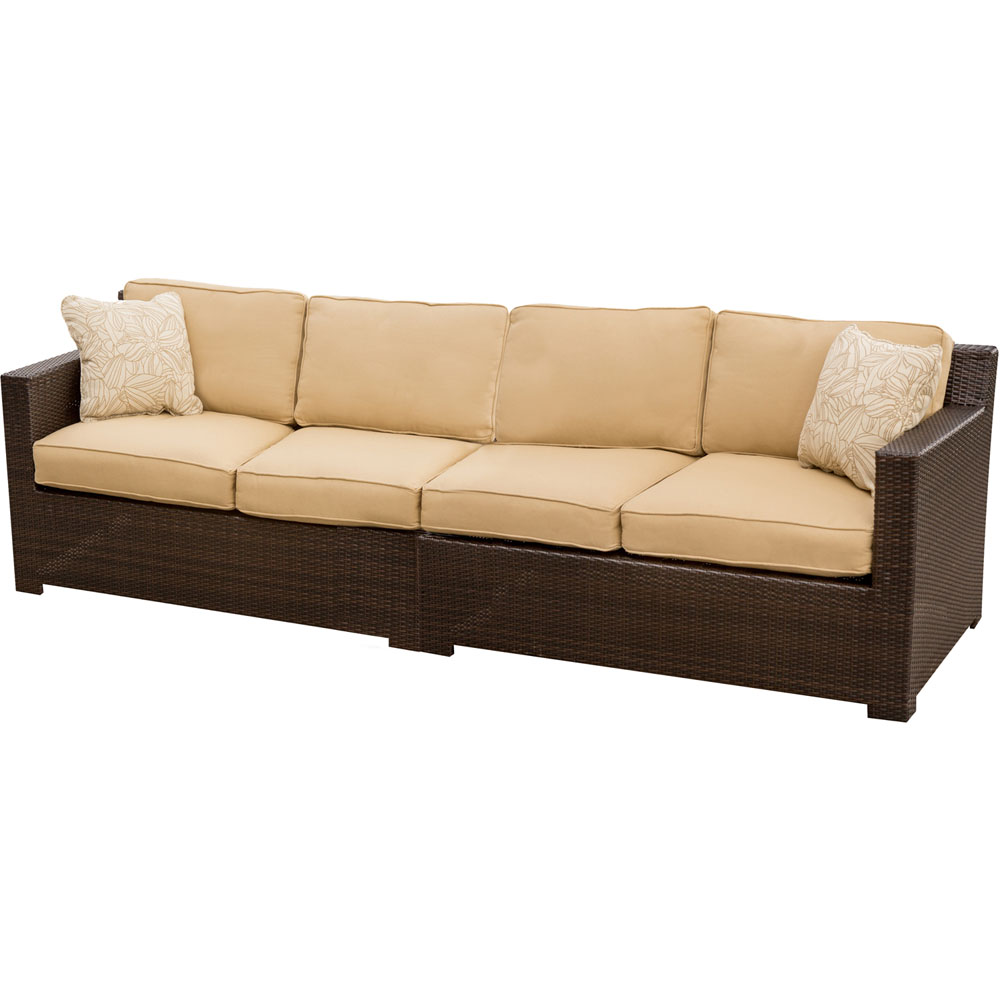 Metropolitan Right/Left Arm Facing Loveseat With Seat & Back Cushion, 1 Pillow