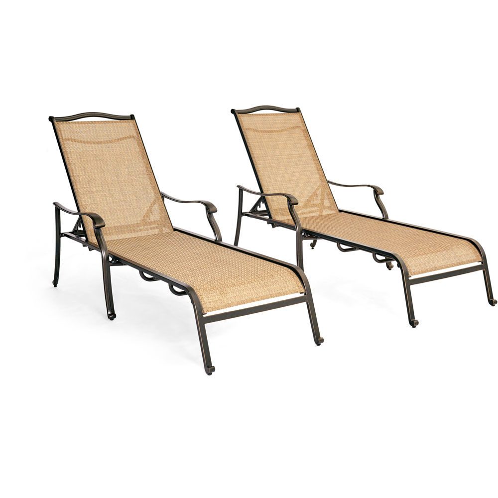 Monaco 2-Piece Chaise Lounge Set