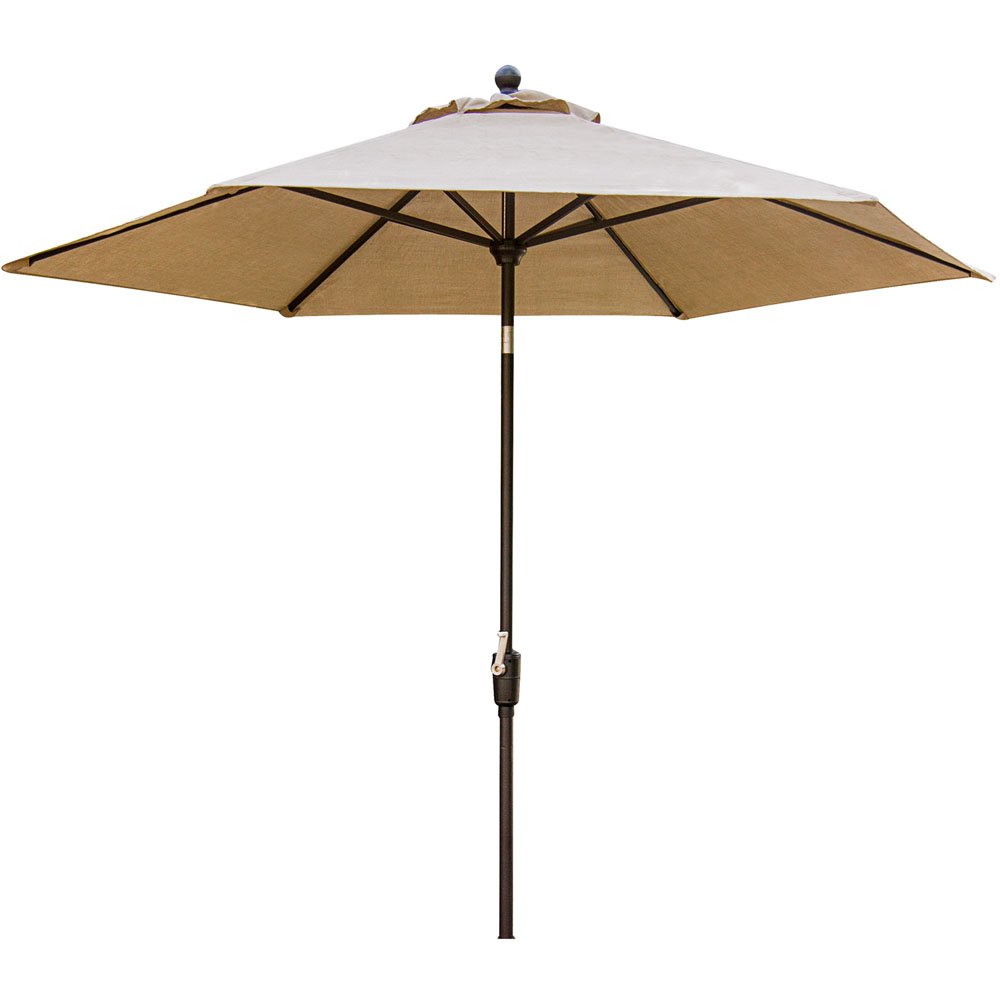 Traditions 11 Ft. Market Table Umbrella, Natural Oat