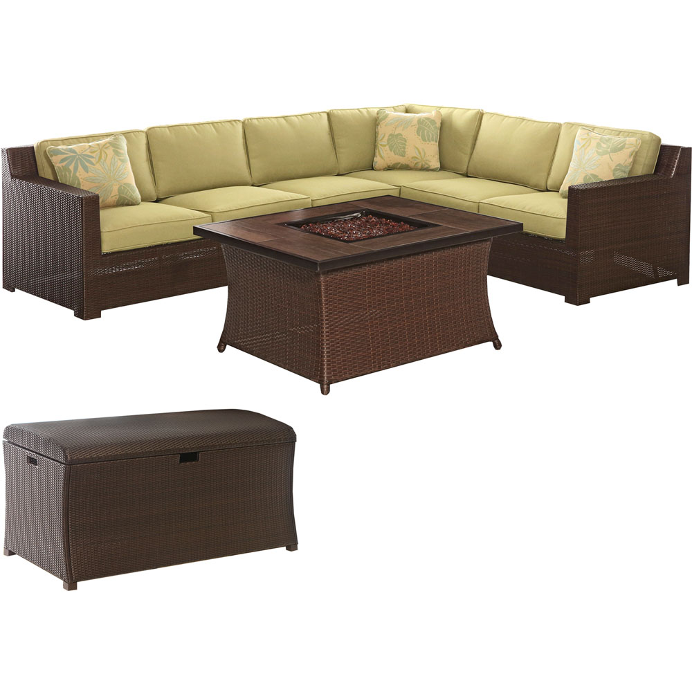 Metro 6PC Set with fire pit and trunk bundle