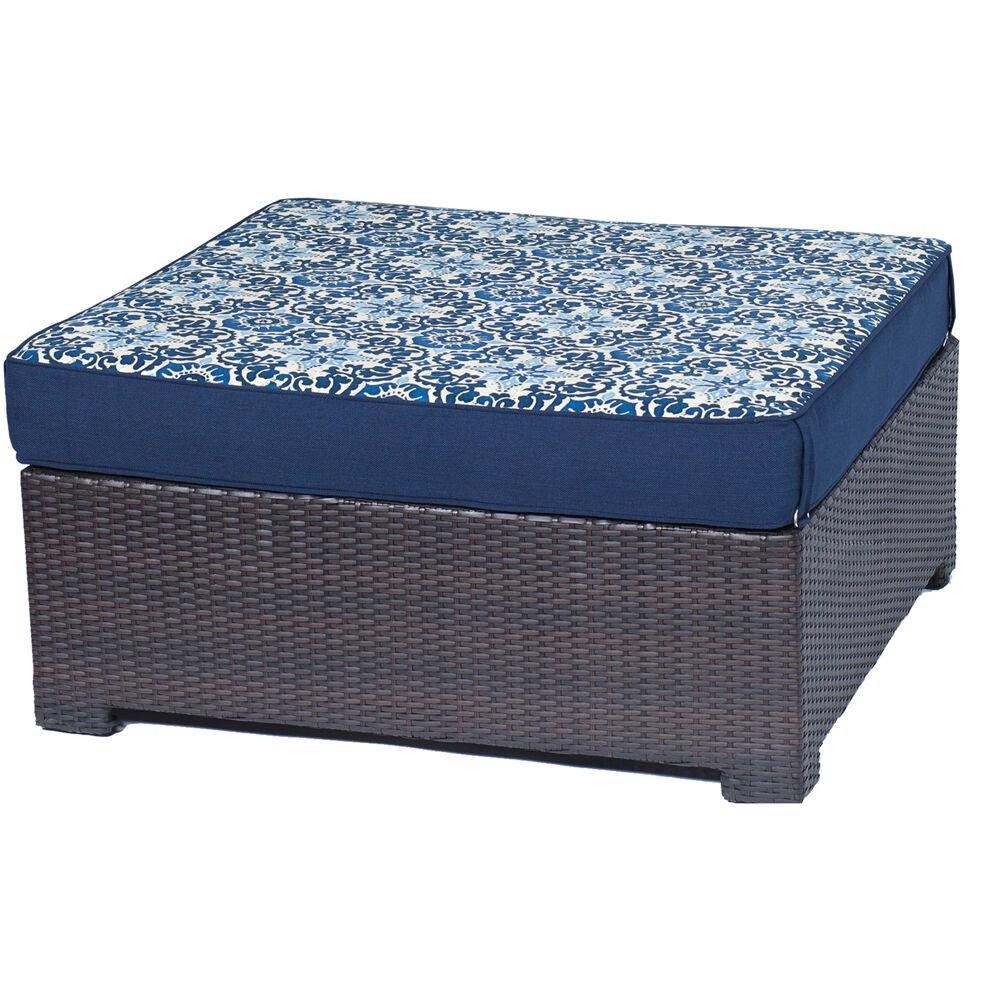 Metro Mini Ottoman and Reversible Cushion