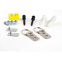 D-RING KIT HVY-DTY 100LB 13PC