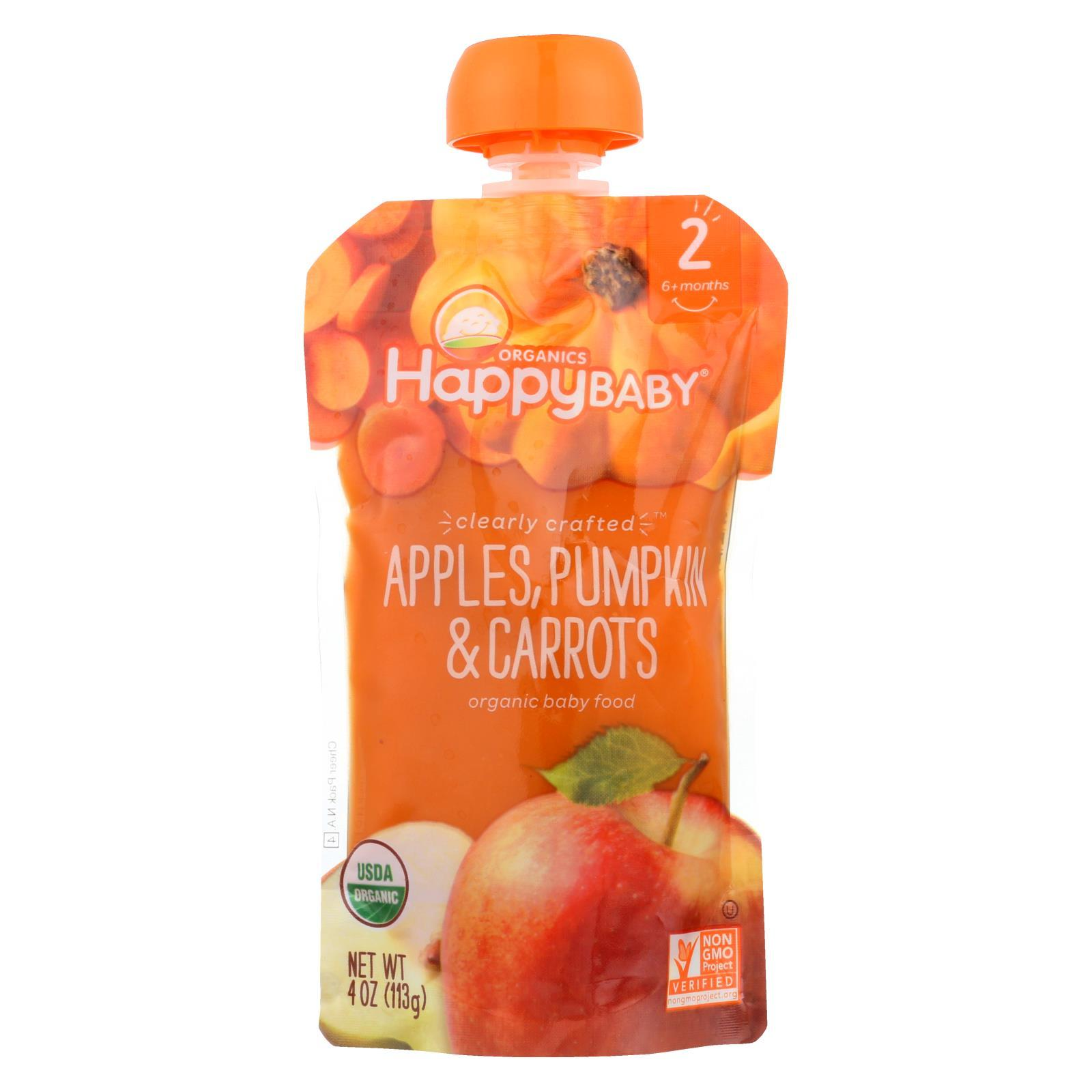 Clearly Crafted Stage 2 - Apples, Pumpkin And Carrots ( 16 - 4 OZ )