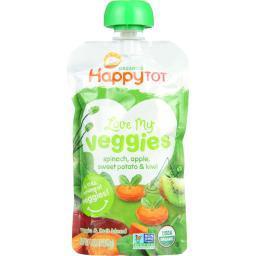 Organic - Love My Veggies - Spinach Apple Sweet Potato And Kiwi ( 16 - 4.22 OZ )