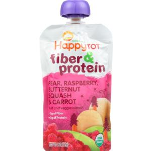Organic - Fiber And Protein - Stage 4 - Pear Raspberry Butternut Squash And Carrot ( 16 - 4 OZ )