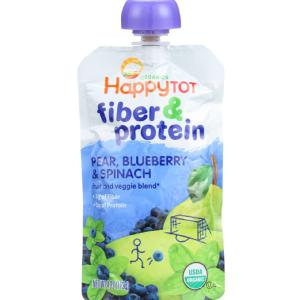 Organic - Fiber And Protein - Stage 4 - Pear Blueberry And Spinach ( 16 - 4 OZ )