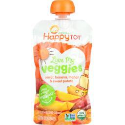 Organic - Love My Veggies - Carrot Banana Mango And Sweet Potato ( 16 - 4.22 OZ )