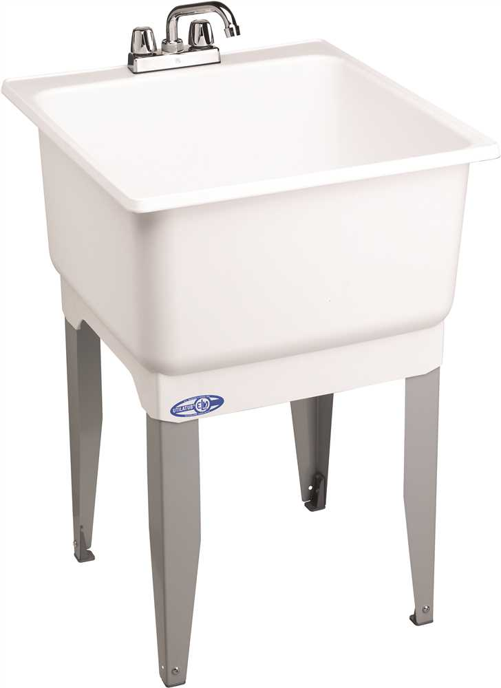 355789 23X25 FL LAUNDRY TUB