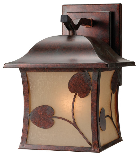 10-3459 Parisian Bronze 1-Light Outdoor Light