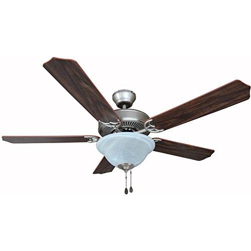12-7059 Satin Nickel 52 In. Ceiling Fan