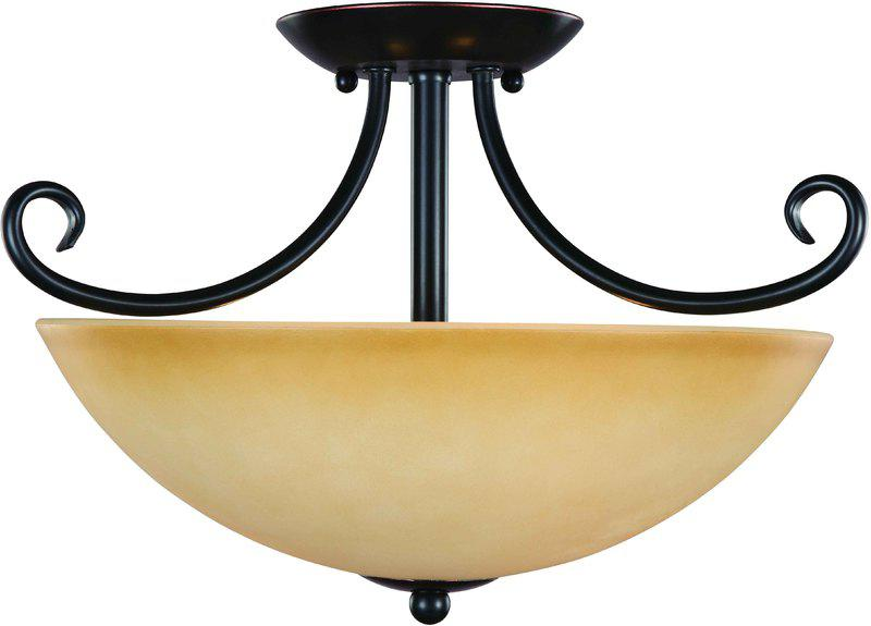 16-4177 Classic Bronze Semi Flush Light