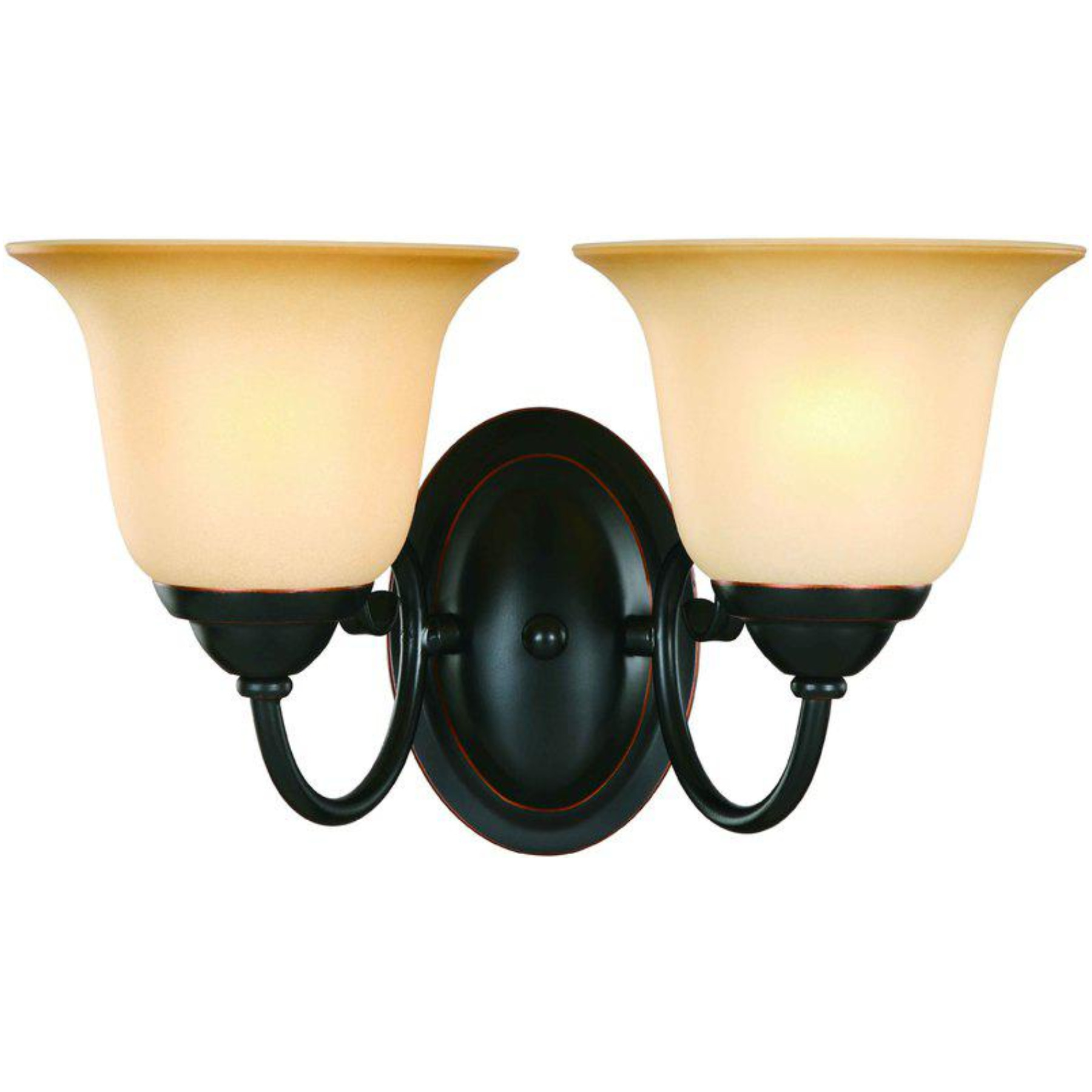 16-3750 Classic Bronze 2 Light Wall/Bath Light