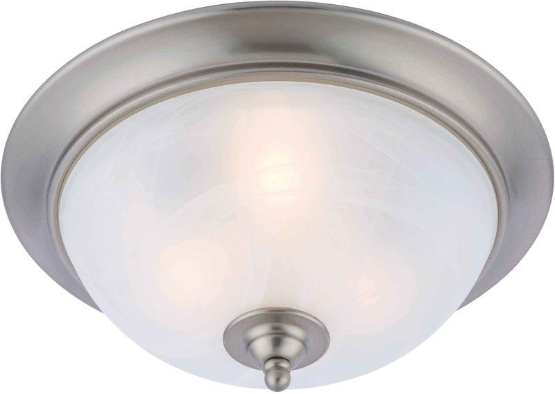 16-3347 Satin Nickel 3 Light Ceiling Light