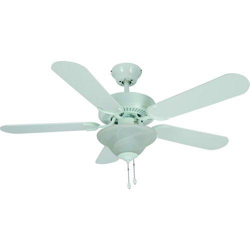 54-3579 42 In. White Ceiling Fan