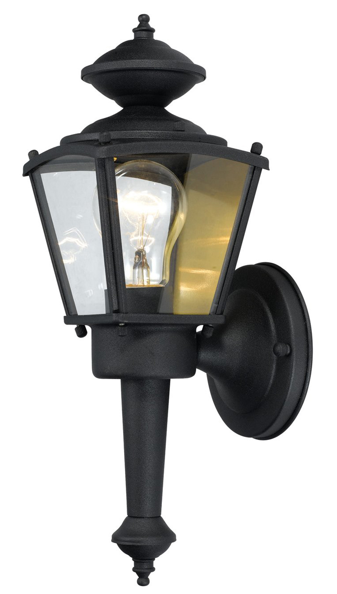 54-4247 Black 1 Light Coach Lantern