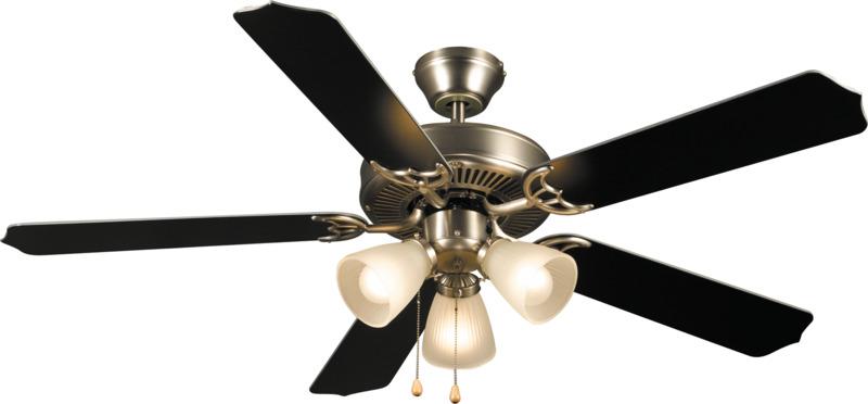 41-5935 Satin Nickel 52 In. Ceiling Fan