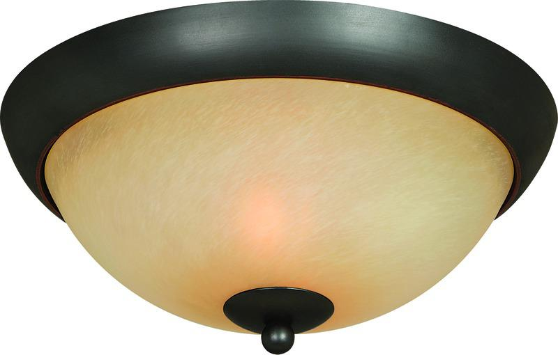 54-3744 Oil Rubbed Bronze  Ceiling Fixture
