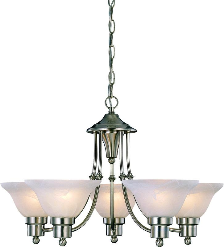 54-4452 5 Light Bristol Chandelier