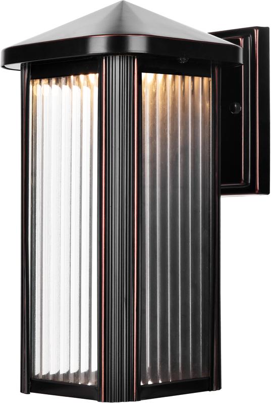 25-1372 OIL RUBBED BRONZE LED LANTERN