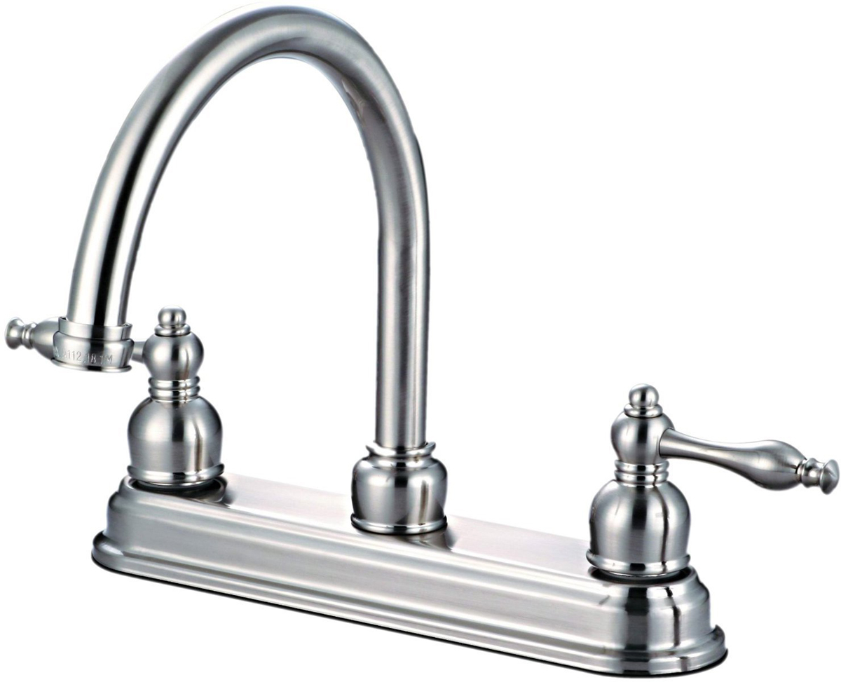 12-2757 Satin Nickel Kitchen Faucet