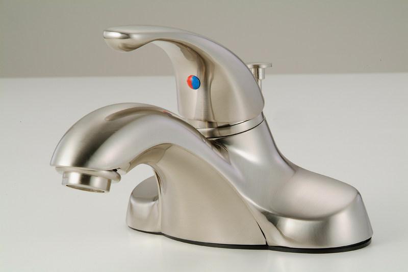12-3662 Satin Nickel Lavatory Faucet