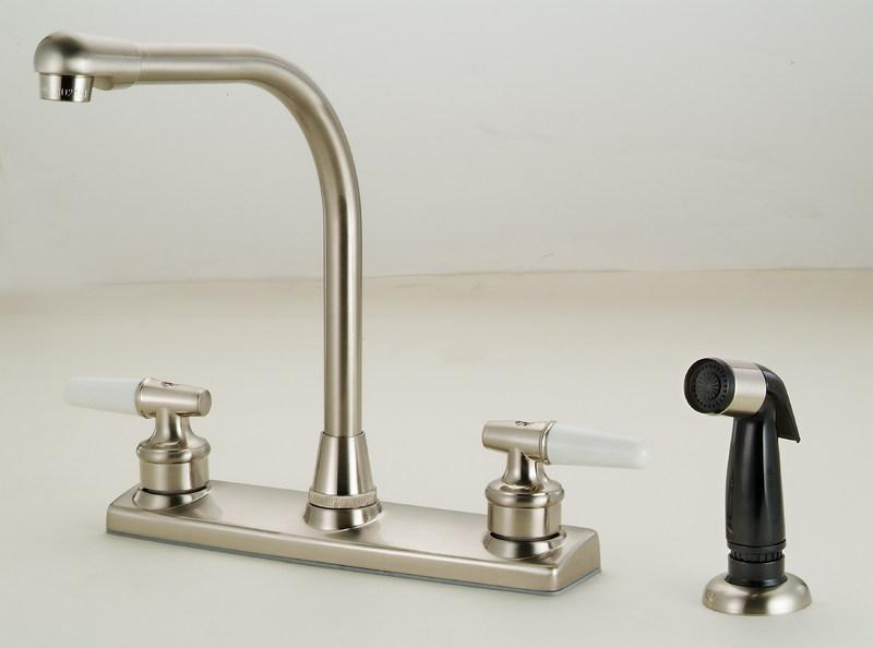 12-3419 Satin Nickel Kitchen Faucet