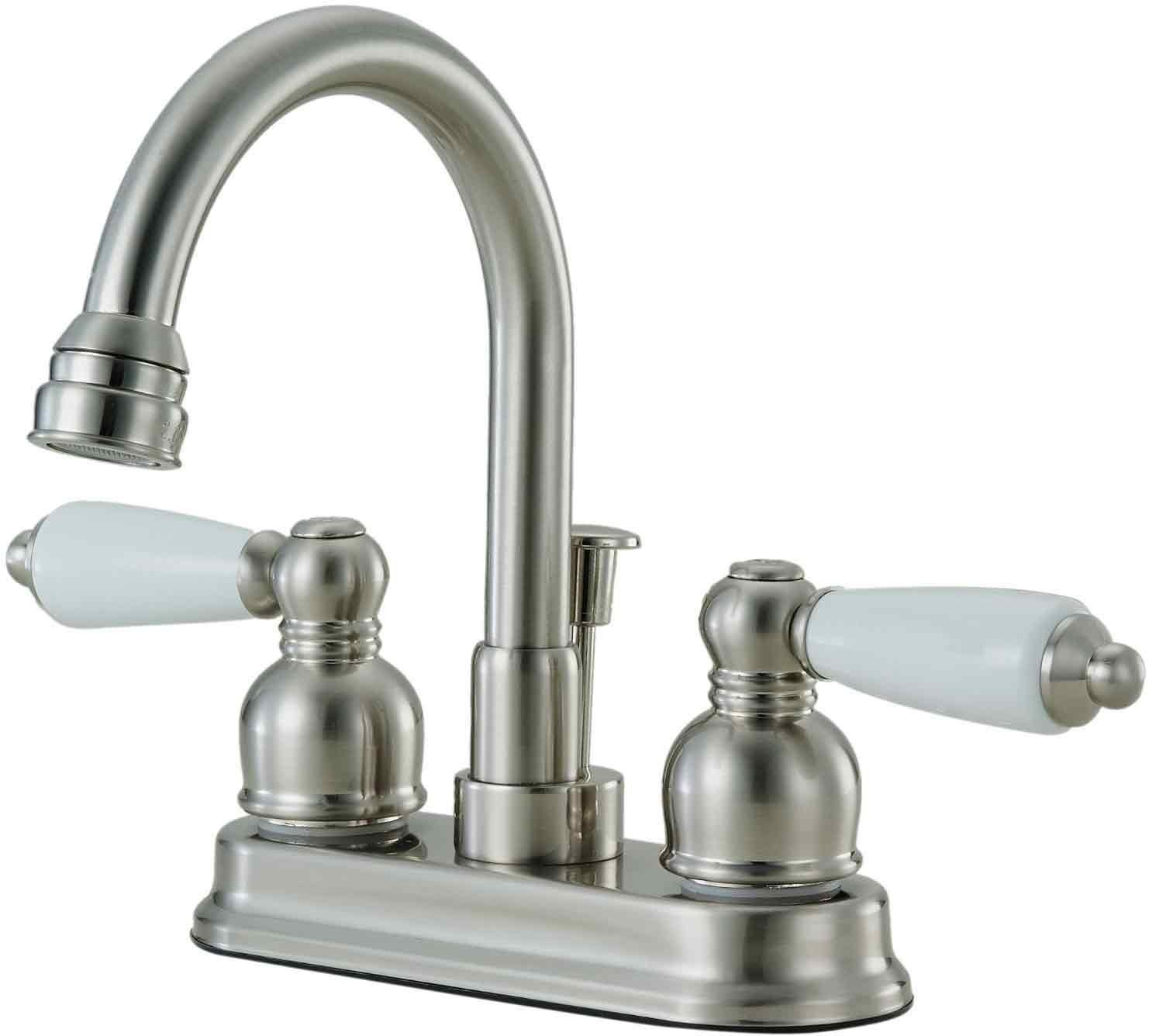 12-2832 Satin Nickel Lavatory/Bar Faucet