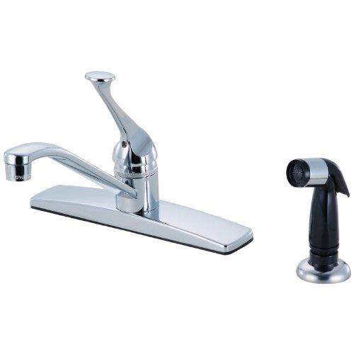 12-5802 Chrome 1 Handle Kitchen Faucet