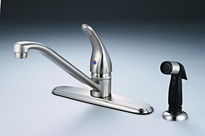 12-5239 Satin Nickel Kitchen Faucet