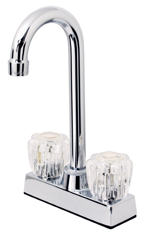 12-4997 Chrome 2 Handle Bar Faucet