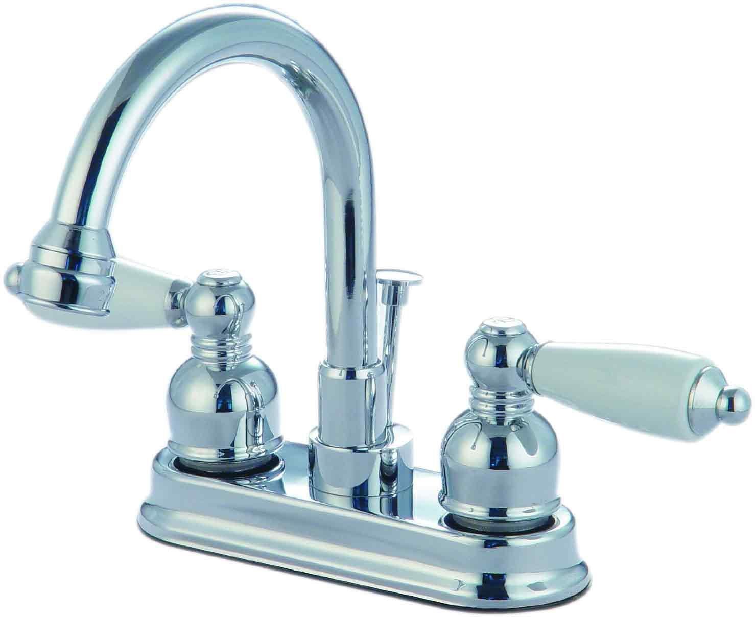 12-3822 Chrome Lavatory/Bar Faucet
