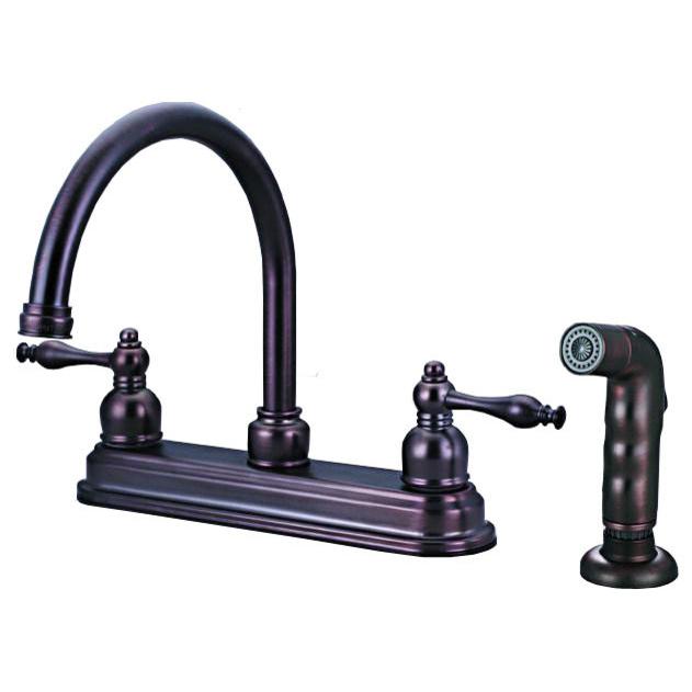 12-2672 Classic Bronze Kitchen Faucet
