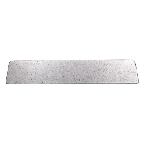 17-1670 Granite Reversible Splash, Pewter, 22""