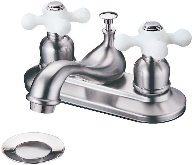 13-6204 Satin Nickel 2-Handle Lavatory Faucet