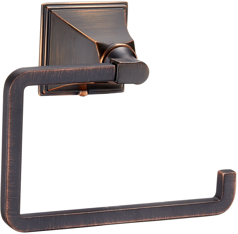 22-0927 OIL RUBBED BRONZE PAPER HOLDER