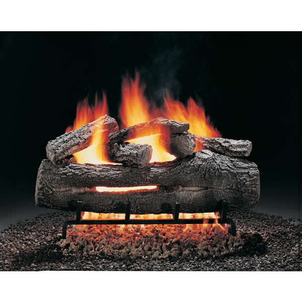 "24"" Hargrove Fire Oak, Vented, Gas Logs Only"