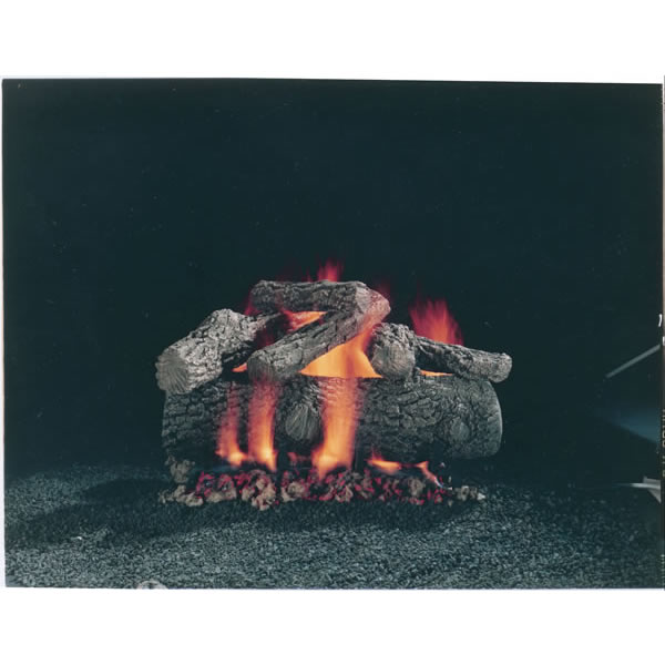 "24"" Hargrove Premium Fire Oak, Vented, gas Logs Only"