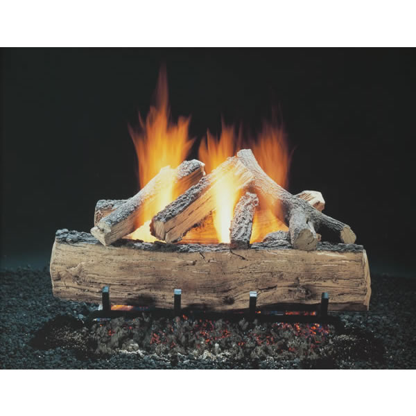 "18"" Hargrove Seasoned Split Oak, Vented, Gas Logs Only, RGA 2-72 Approved"