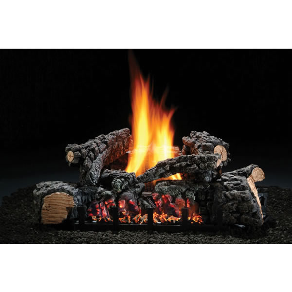 "HARGROVE MANUFACTURING 22"" Highland Glow Vent-free Log Set, Natural Gas per EA at Sears.com"